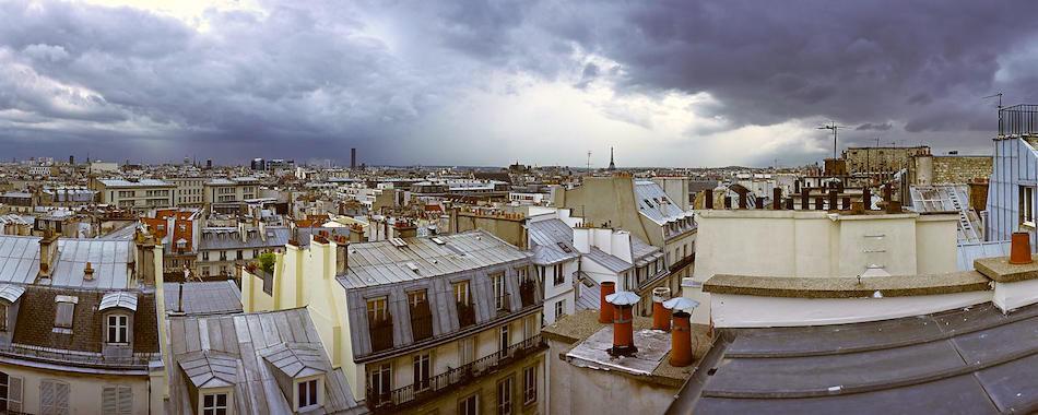 Exposition sur les toits de paris for Appartement sur les toits paris