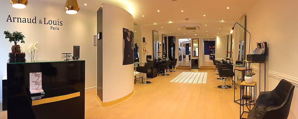 Arnaud et louis coiffure sur mesure for Salon de coiffure sur paris