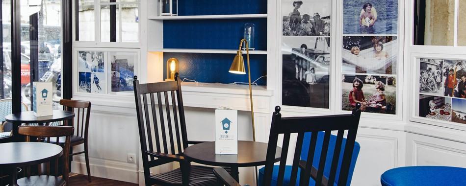 la maison bleue r volutionne le bistrot parisien. Black Bedroom Furniture Sets. Home Design Ideas