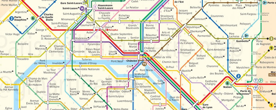 la carte du m tro qui indique le temps de marche entre les stations. Black Bedroom Furniture Sets. Home Design Ideas
