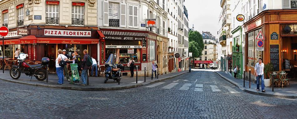 se balader dans paris