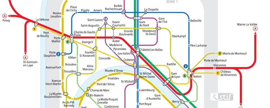 6 Lignes De Metro Ouvertes Toute La Nuit