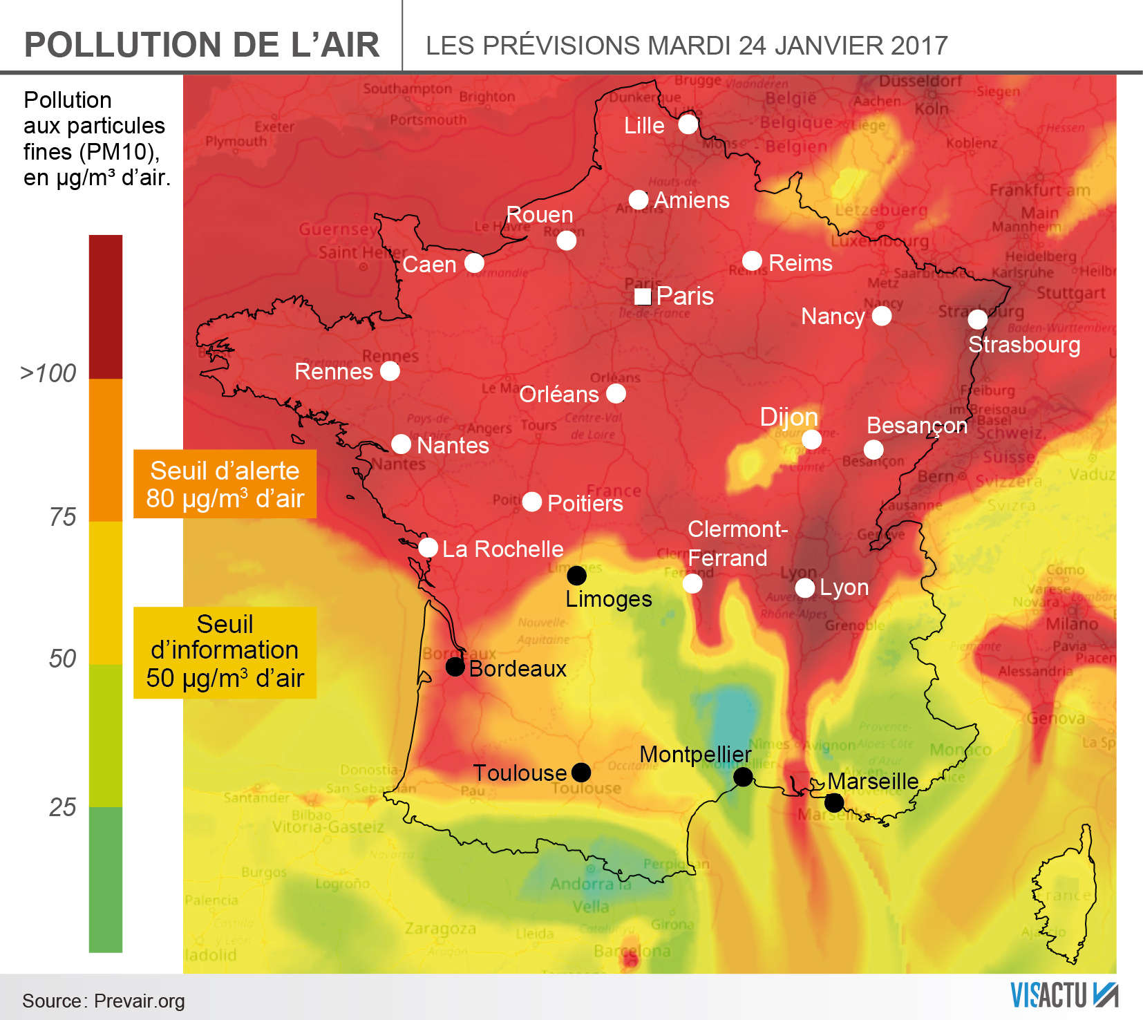 Carte Pollution Bordeaux.Alerte Pollution La Marche A Suivre