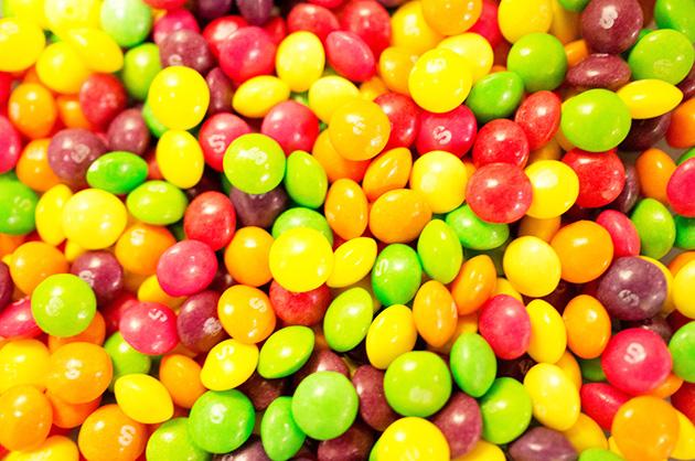 bonbon calorique skittles