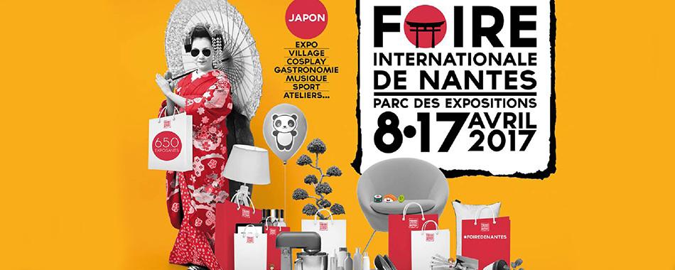 Foire de nantes 2017 c l brera le japon - Invitation foire de lyon 2017 ...