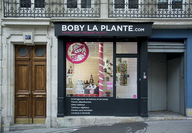 boby la plante boutique paris devanture