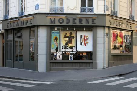Estampe boutique paris
