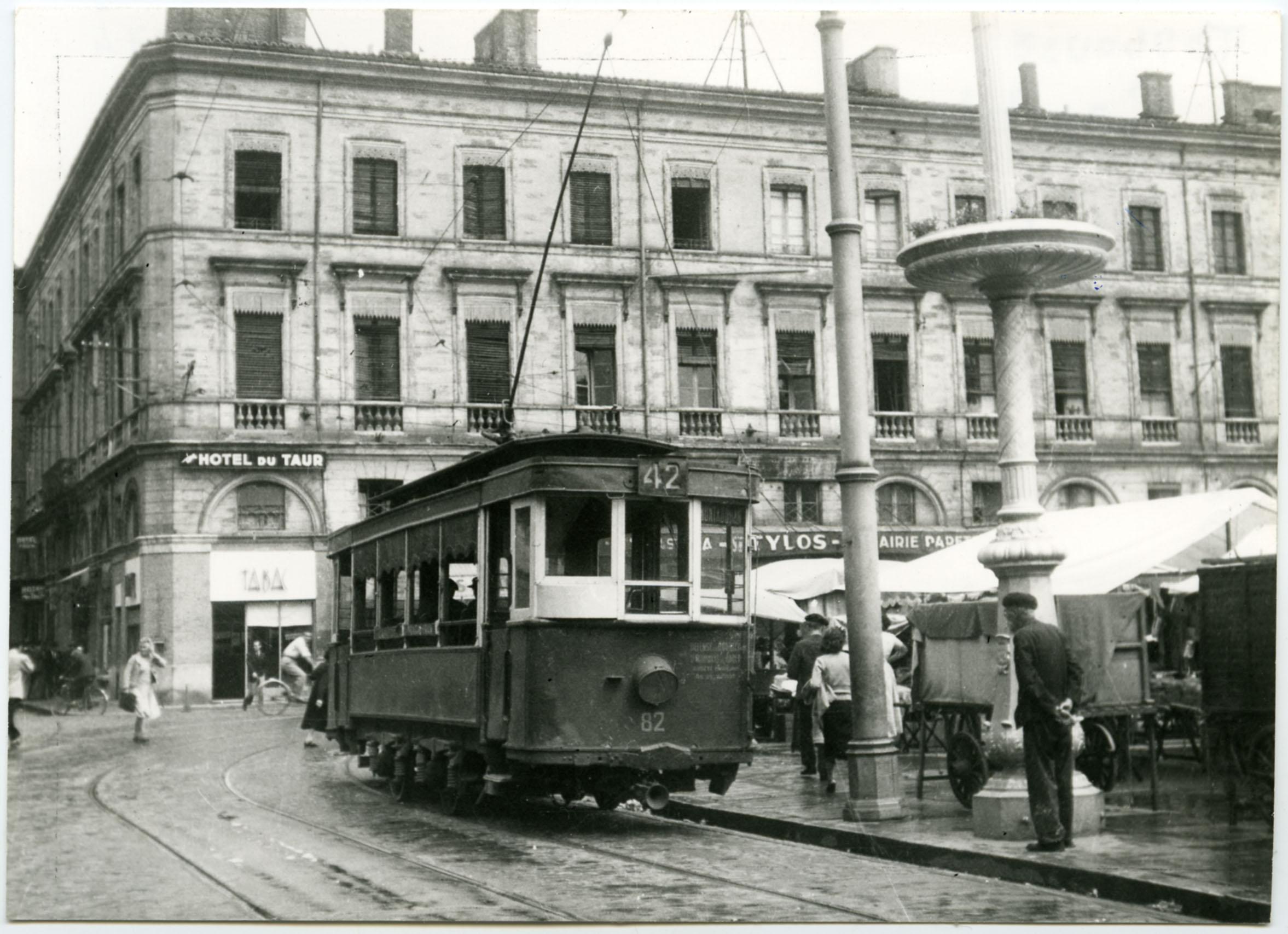 tramway toulouse 1949