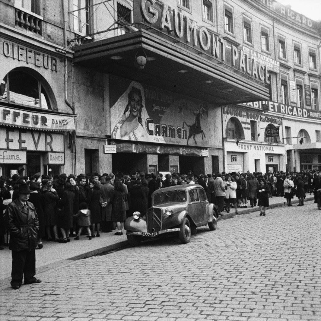 cinema gaumont toulouse 1950