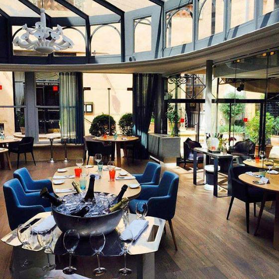 Restaurant gastronomique toulouse la s lection du bonbon - Les jardins d isaure toulouse ...