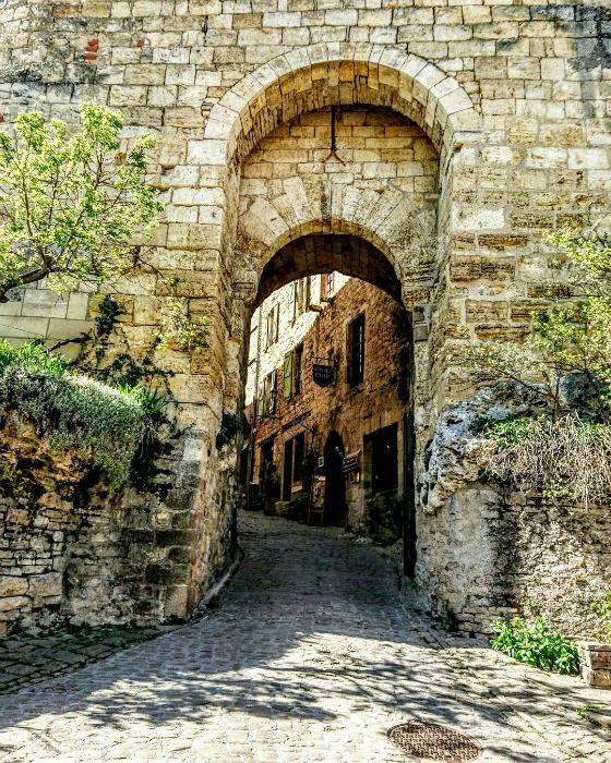 Ville Medievale Proche Toulouse