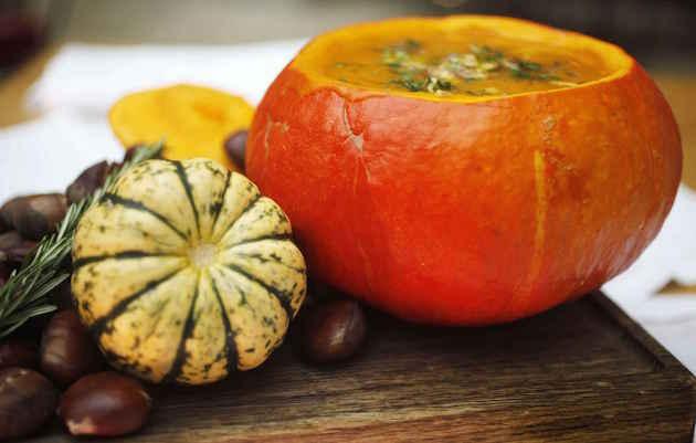 Quels sont les fruits et l gumes d 39 automne et o les - Cuisiner un potimarron ...