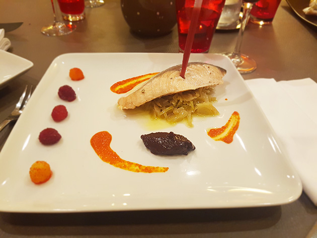 clemence poisson embeurree de choux