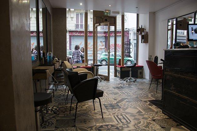 Chez Ginette salon de coiffure paris