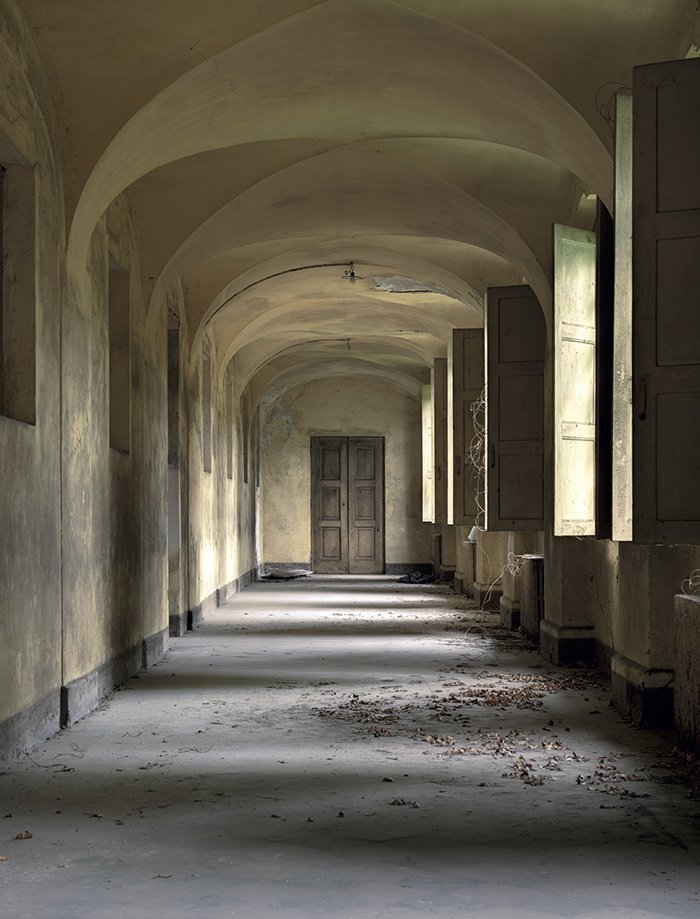 lieu abandonné dans le monde italie