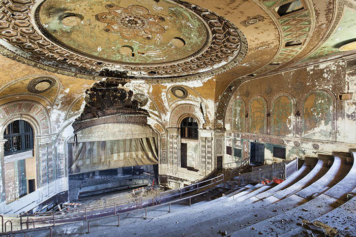 lieux abandonnés dans le monde