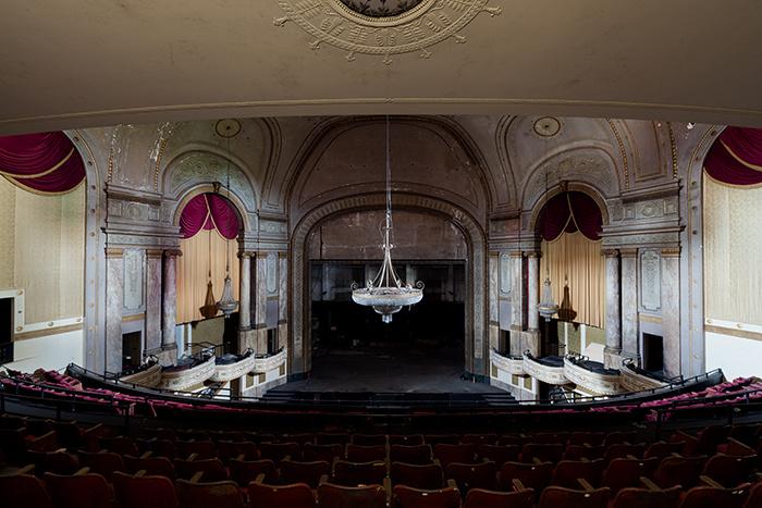 lieux abandonnés théâtre