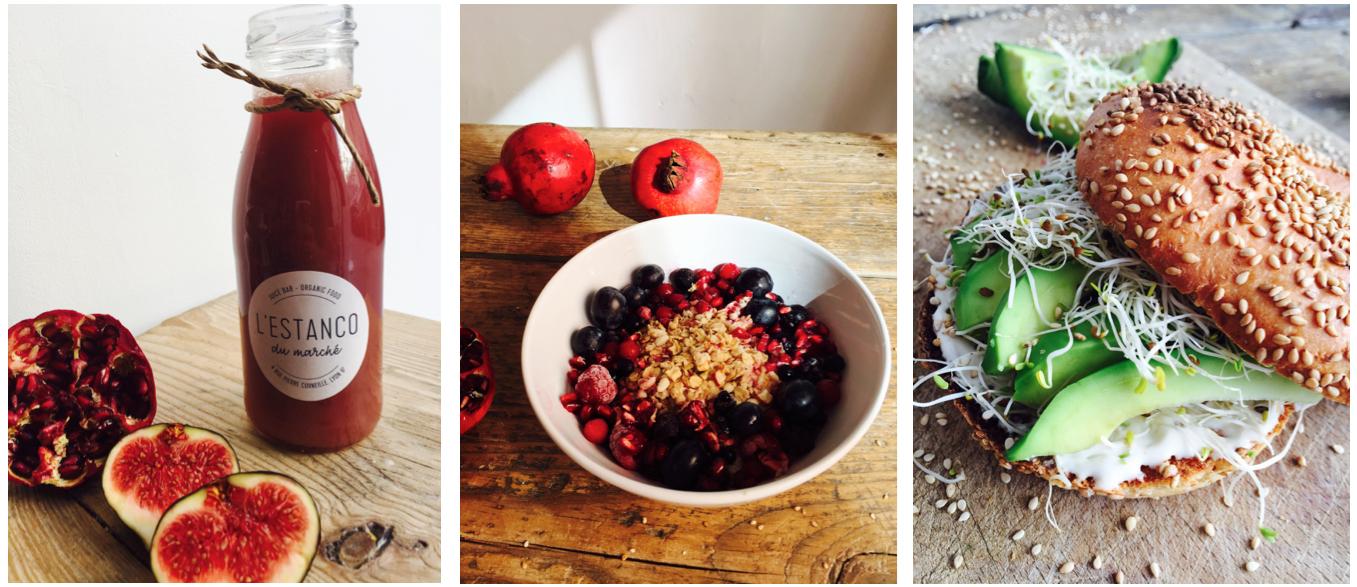 lyon-vegan-veggie-food-healthy-bio-granola-bagel
