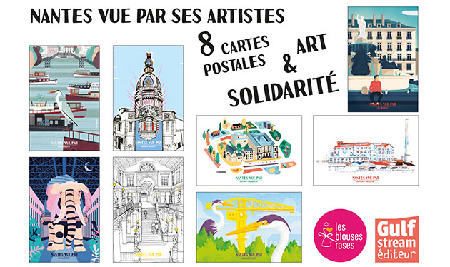cartes postales solidaires