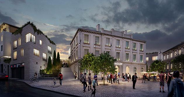 rehabilitation maison d arret nantes futur theatre compagnie du cafe theatre