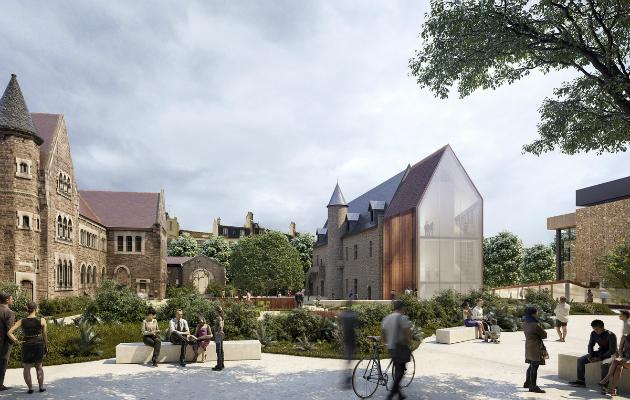 Les jardins du nouveau musée Dobrée