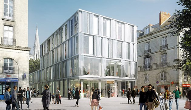 uniqlo nantes square fleuriot de langle