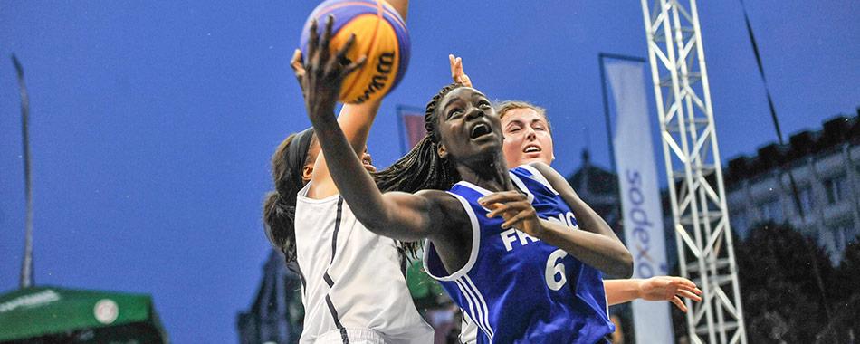 La coupe du monde de basket 3x3 nantes - Coupe du monde de basket ...