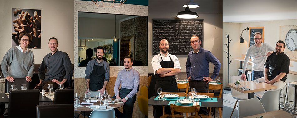 Les tables de nantes 2017 les duo cuisine salle l 39 honneur - Les bonnes tables de nantes ...