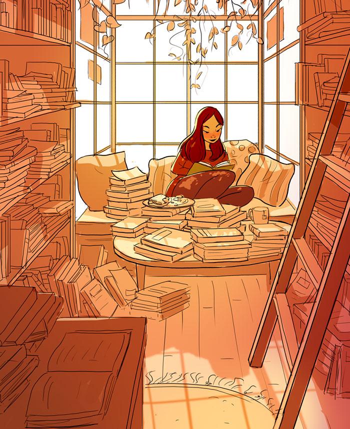 vivre-seule-illustrations