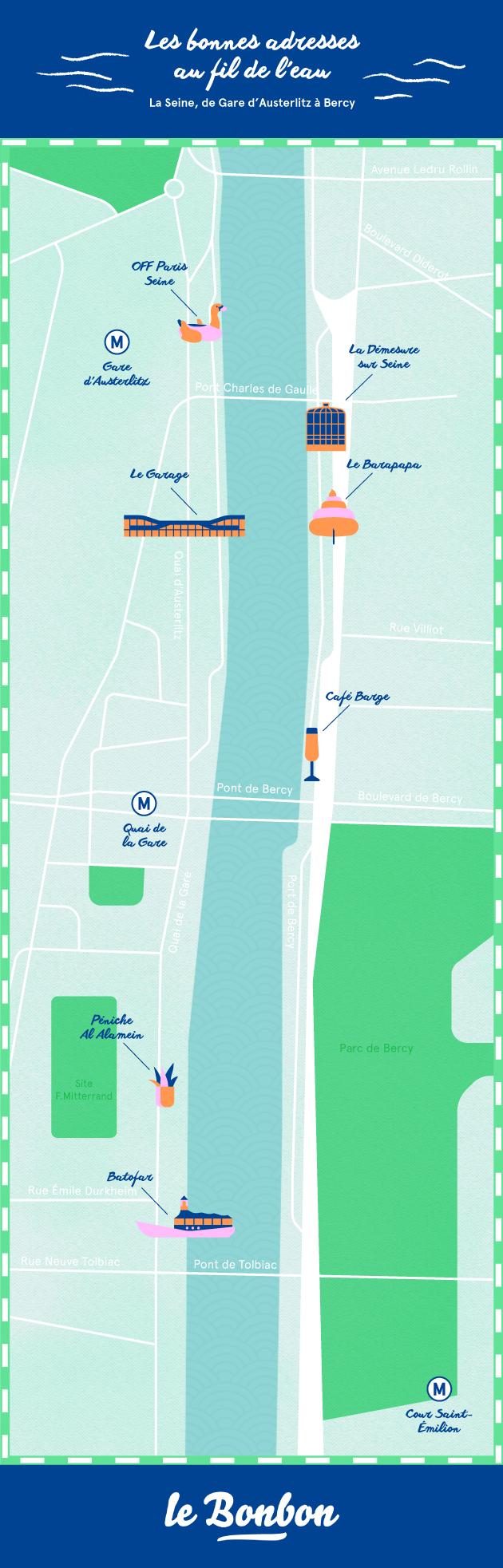 Les Bonnes Adresses Au Fil De L 39 Eau 2 La Seine