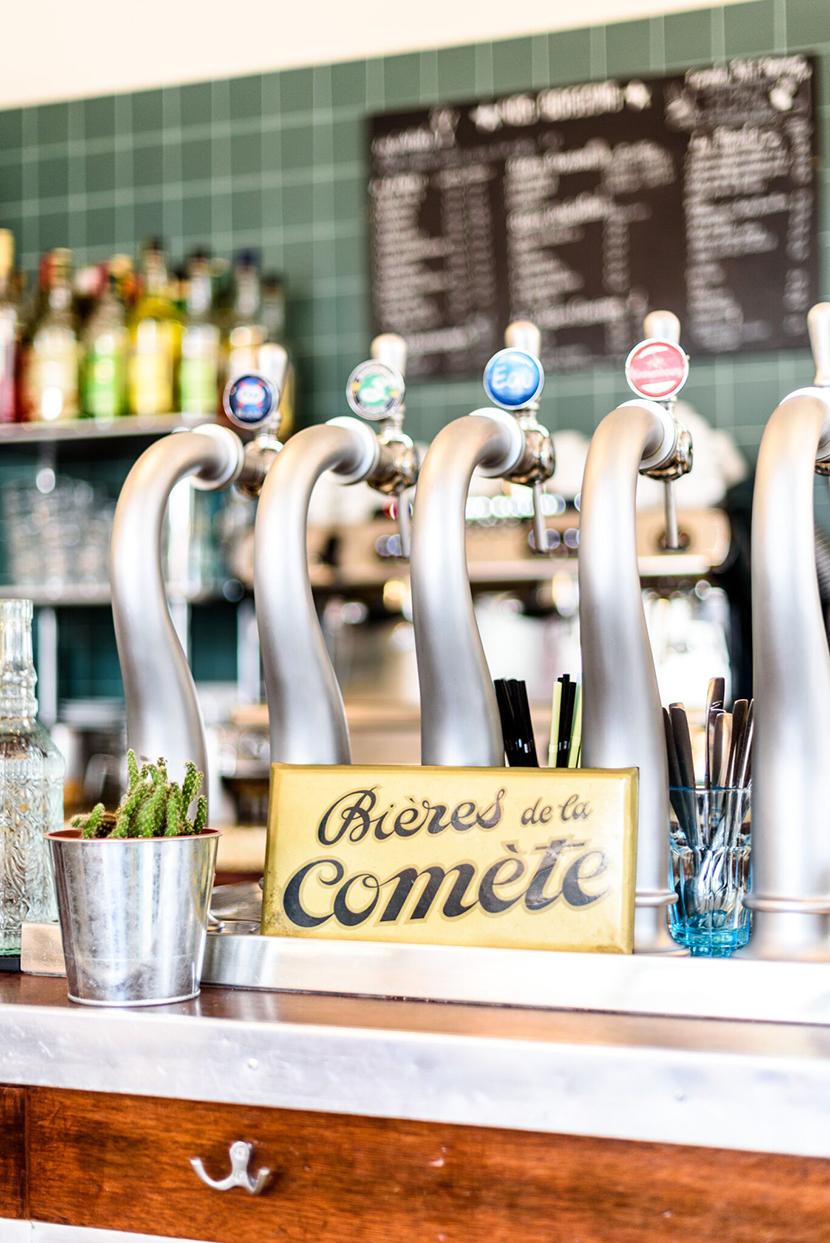 Bières de la Comète bistrot paris