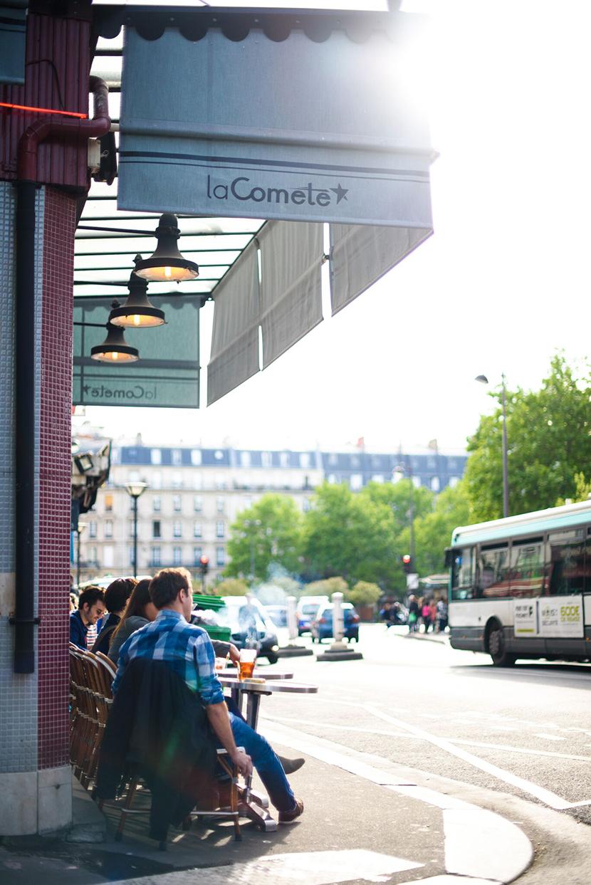 La Comète bistrot Paris