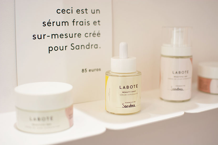 labote cosmetique paris cremes