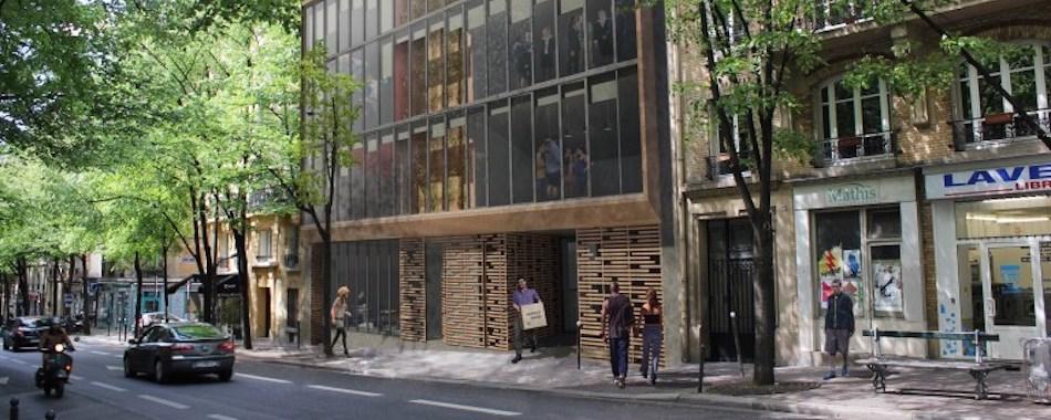 Un ancien garage du 20e transform en maison de chor graphes for Garage renault metz avenue de strasbourg