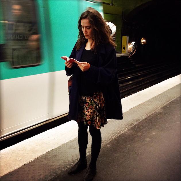 parisienne-métro