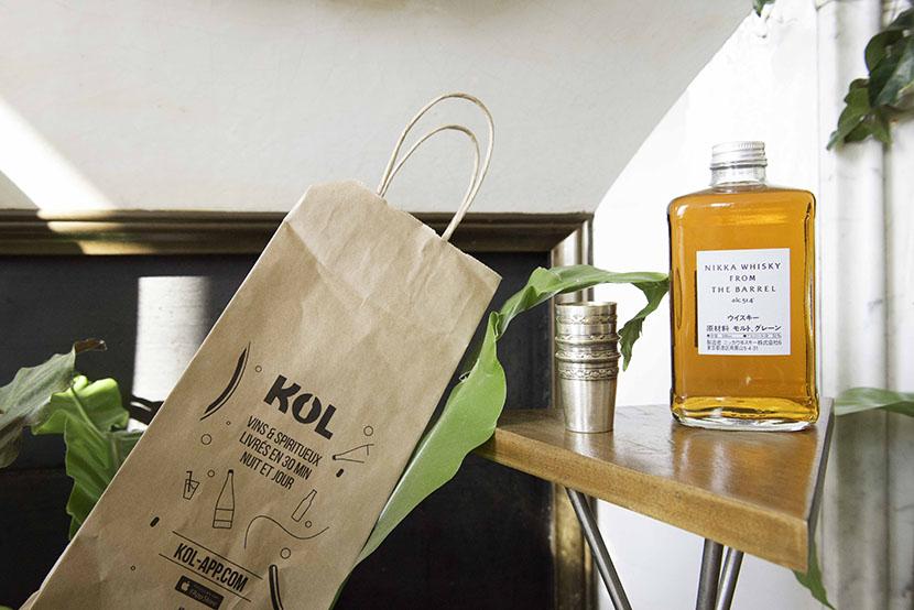 kol livraison alcool domicile paris whisky