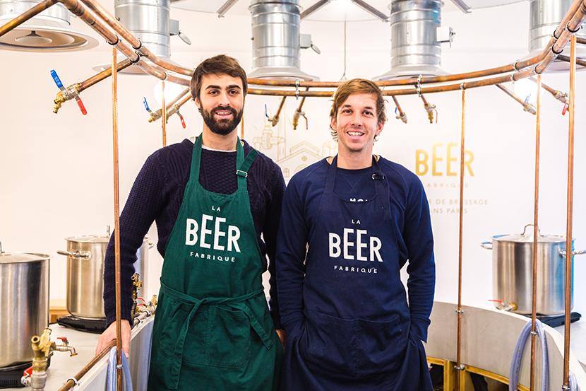Gaspard et Martin La Beer Fabrique