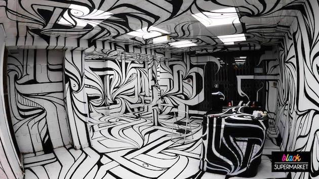 ouverture-black-supermarket-nouveau-lieu-éphémère-arty-paris-atelier-graffiti