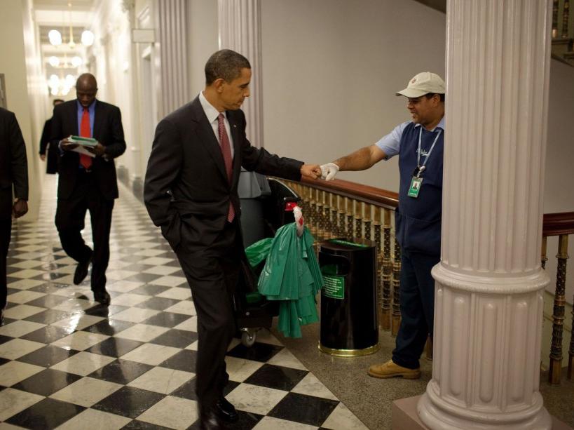 Un check avec Lawrence Lipscomb, l'homme de ménage (03/12/09)