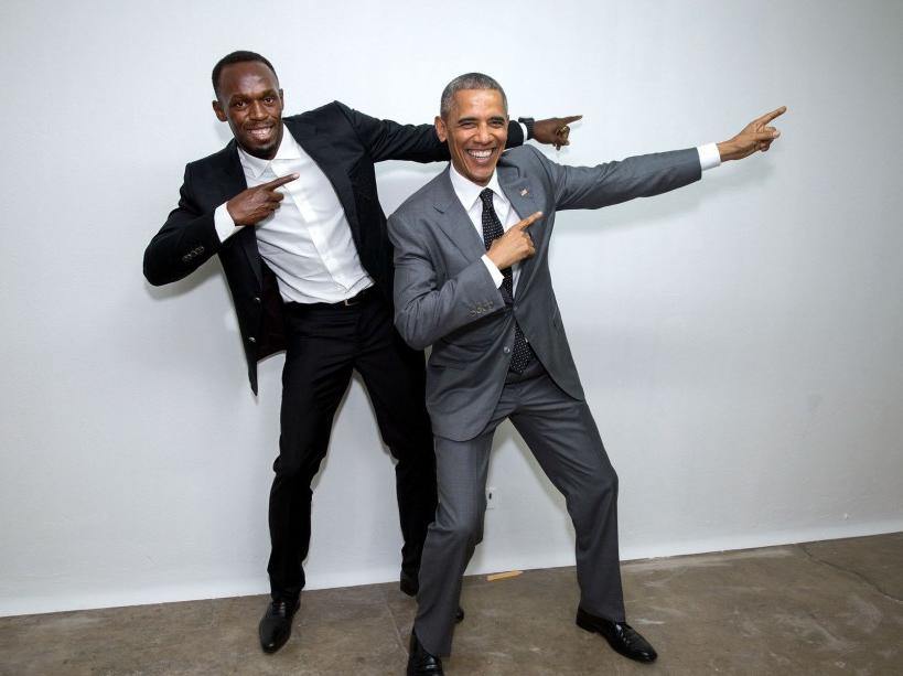 Avec Usain Bolt (09/04/15)