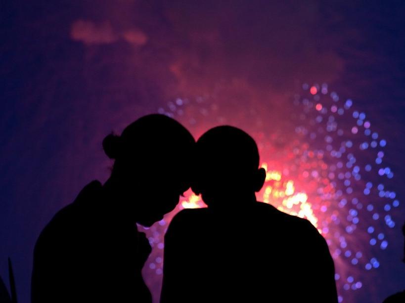 La fête nationale depuis le toit de la Maison Blanche (2010)