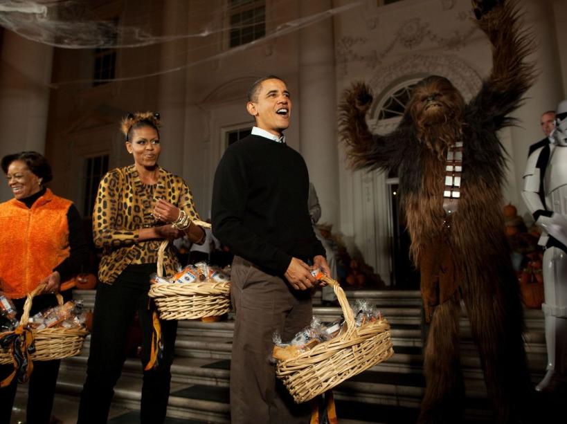 Halloween à la Maison Blanche (31/10/09)