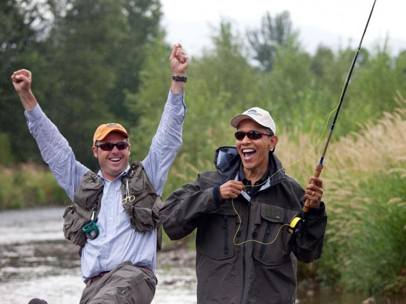 Un escapade pêche dans le Montana (14/08/09)