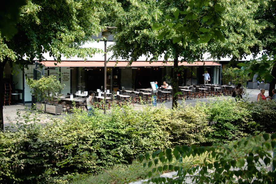 Les plus jolies terrasses cach es de paris - Restaurant paris avec terrasse jardin ...