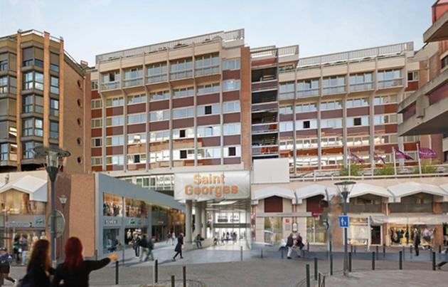 L 39 espace saint georges va changer de visage - Centre commercial toulouse portet ...
