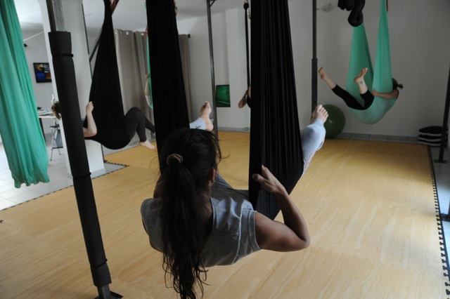 body fly yoga aerien toulouse