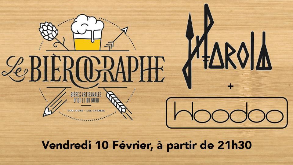 Concert Hoodoo + Harold - Rock le bierographe