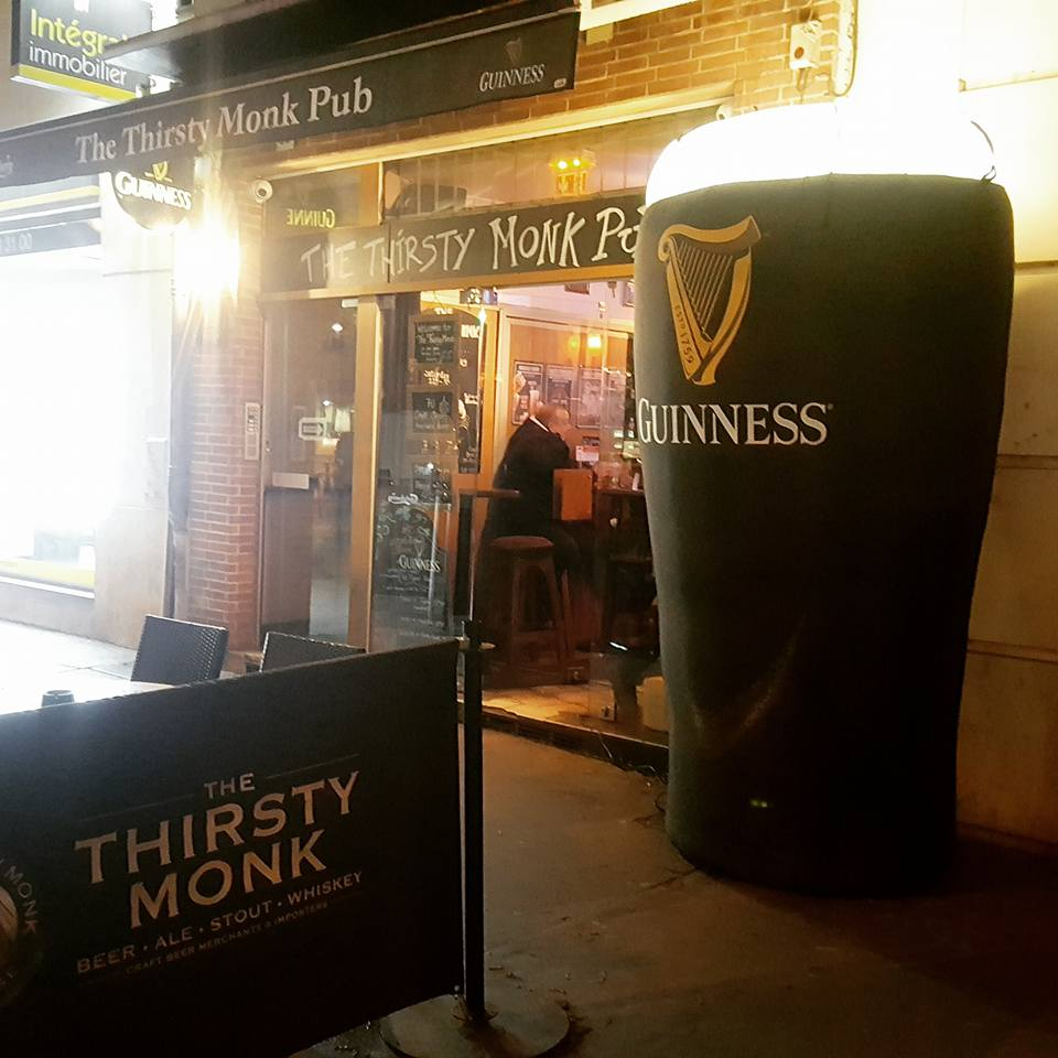Le top des happy hours à Toulouse - The Thirsty Monk Pub