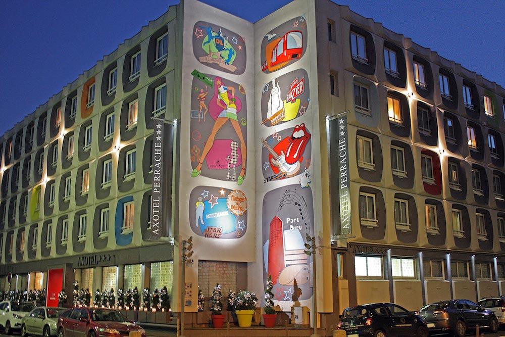 Une fresque street art hommage lyon va tre r alis e sur for Art et fenetre lyon