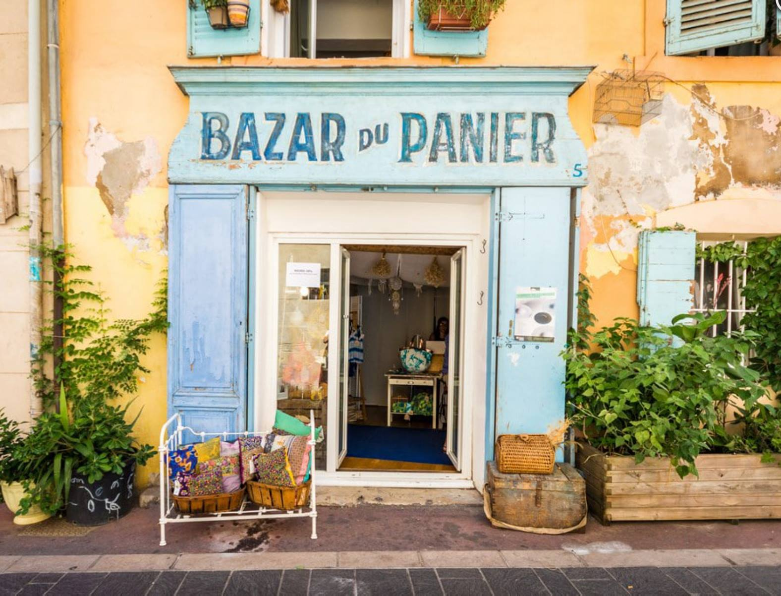bazar quartier du panier marseille